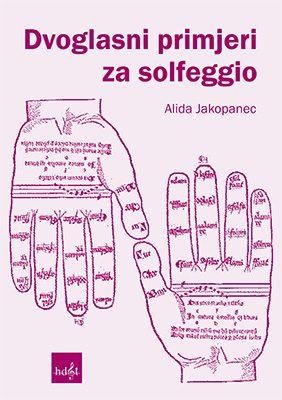 Naslovnica knjige Dvoglasni primjeri za solfeggio