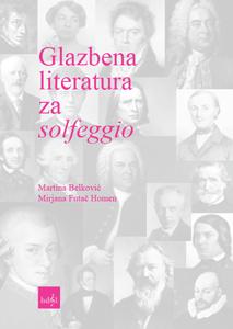 Naslovnica za Glazbena literatura za solfeggio