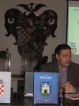 """Lecture by Željko Heimer at the """"Brethren of the Croatian Dragon"""" Society, 9.12.2009."""
