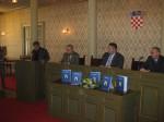 """Predstavljanje knjige """"Grbovi i zastave Grada Zagreba"""" u Staroj gradskoj vijećnici, 20.10.2009."""