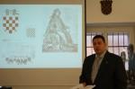 """The book """"Grb i zastava RH"""" presented in the State Archives in Zagreb, 14.10.2008."""