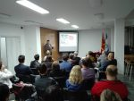 Lecture by Heimer at the Jewish Community in the Republic of Macedonia, 7.10.2019