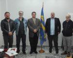 Predsjednik Heimer s članovima MGD
