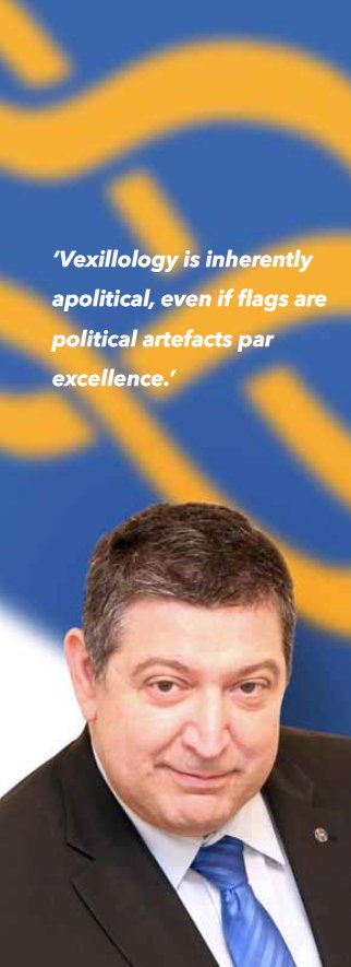 ¸Heimer: 'Vexillology is inherently apolitical, even if flags are political artefacts par excellence'