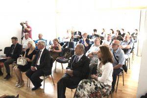 Auditorij Češkog narodnog doma u Zagrebu na događanju.