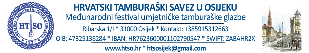 Hrvatski tamburaški savez u Osijeku