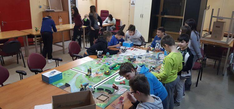 Pripreme za First Lego Legaue Hydro dynamics natjecanje