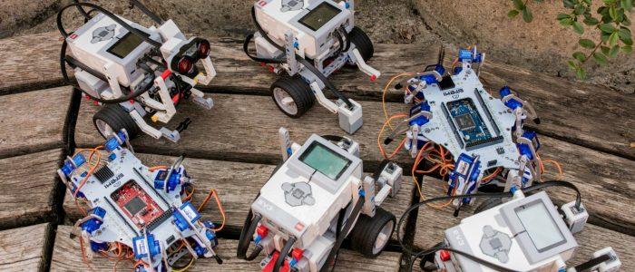 LEGO robotika, STEMI hexapod