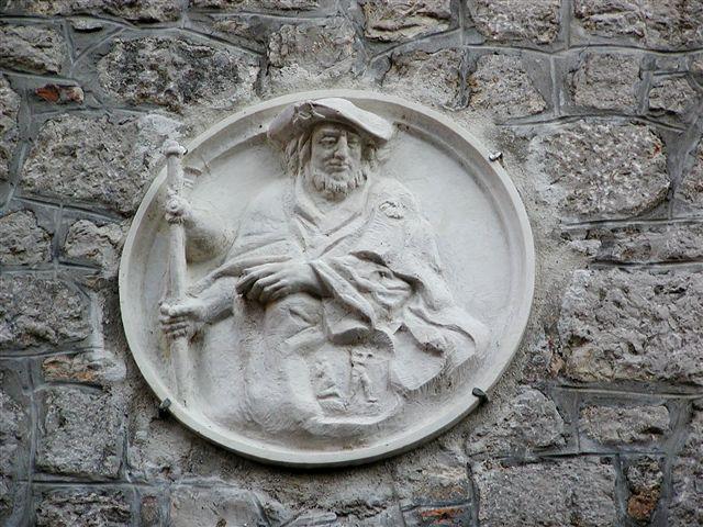 Reljef sv. Jakova na zvoniku