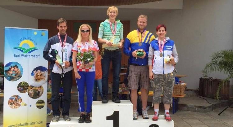 Antonija 2. mjesto u W35 - Alpe Adria Cup 2015.