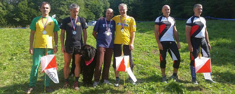 Štafetno prvenstvo Hrvatske 2015. - M45