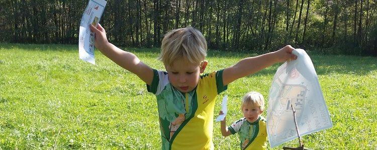 Dječja orijentacijska utrka 12. Bjelovar Open