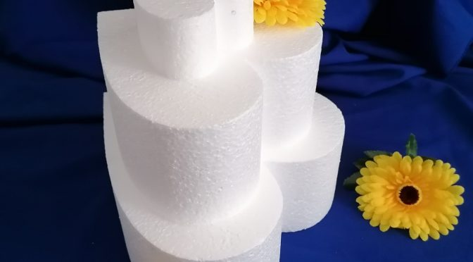 Stiropor torte – Dummy cake
