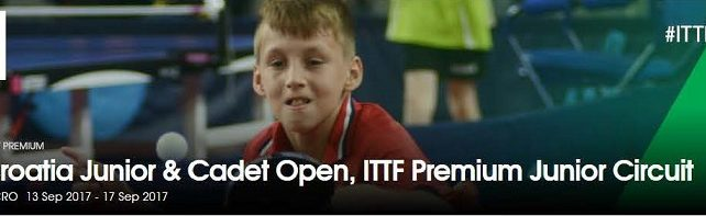 Croatia open za kadeti-inje i juniore-ke