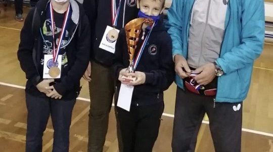 Najmlađi kadeti 3. na PH ekipno