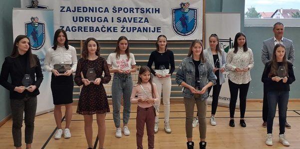 Neva Gojković – športska nada Zagrebačke županije za 2020. godinu