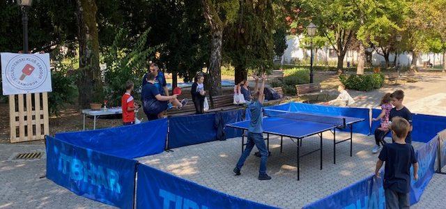 Prezentacija stolnog tenisa – Dan otvorenih vrata STK Samobora