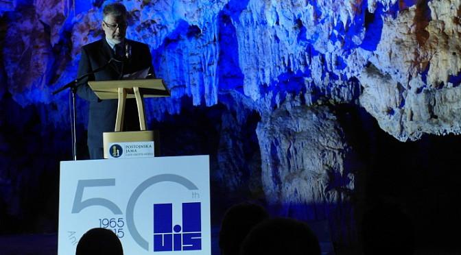 Predstavnici ZSS-a na proslavi 50 godina Međunarodne speleološke unije