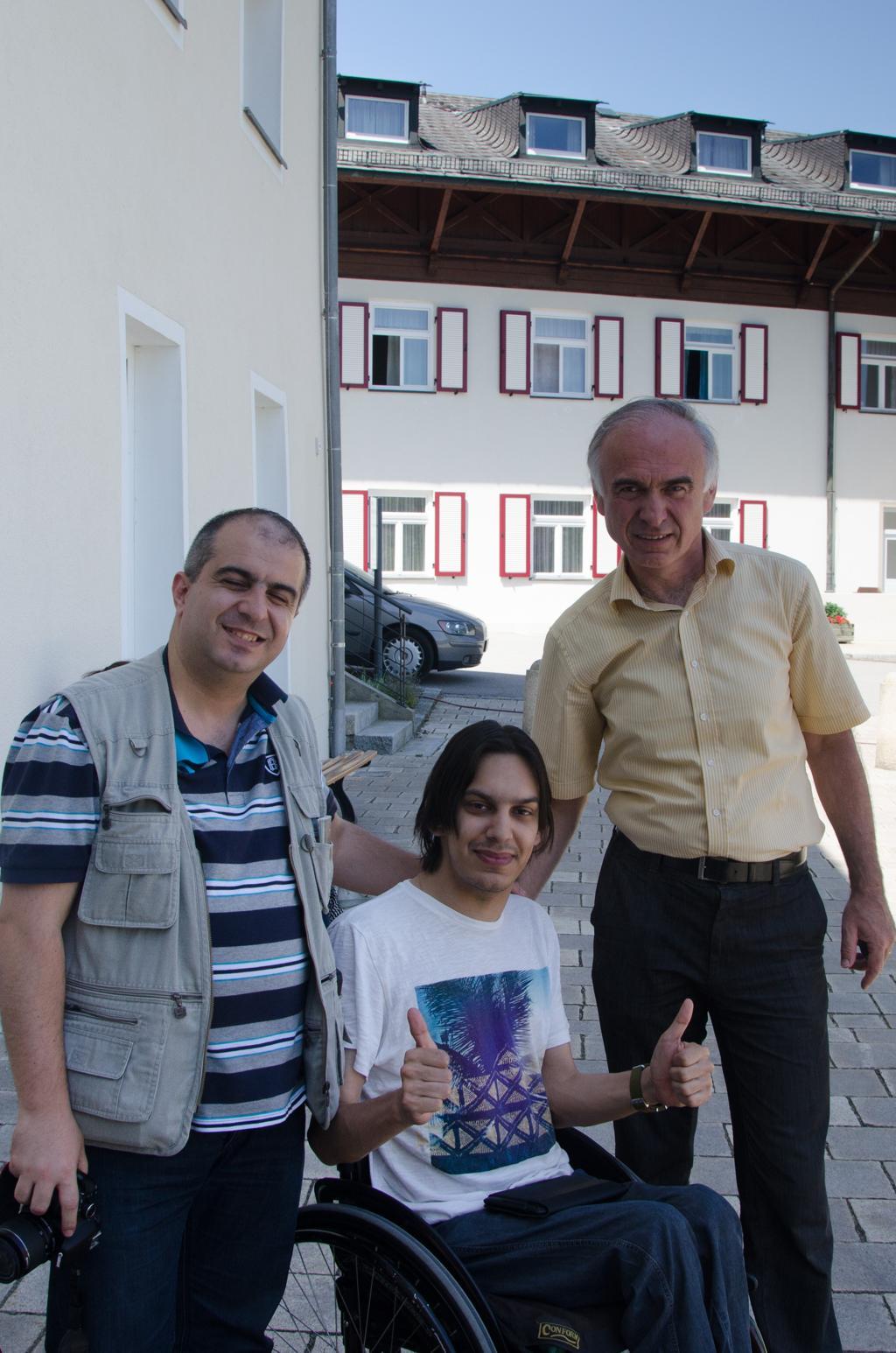 Nikola i prijatelji iz Libanona i Njemačke
