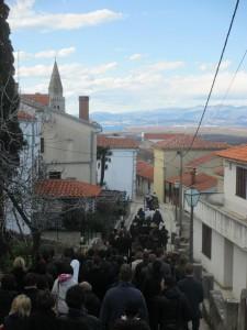 Procession-Island Krk