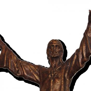 Srce Isusovo - kip, p. Marijan Gajšak DI