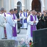 P. Danijel Koraca, Pogreb 26.10.2015