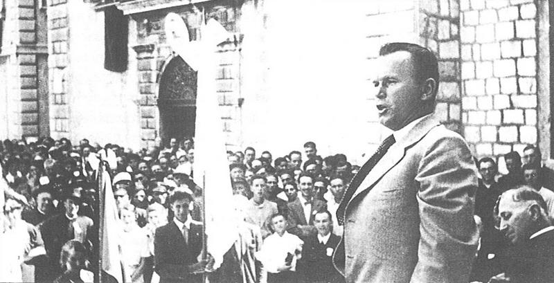 Ivan Protulipac – prvi predsjednik Orlovstva i Križarstva – hrvatski  mučenik (1899. – 1946.) – Križarska organizacija